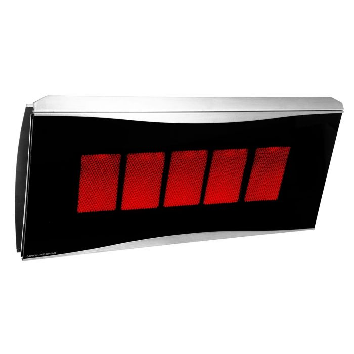 Bromic BR-PLA500 Platinum Smart-Heat Radiant Gas Heater, 5-Burner
