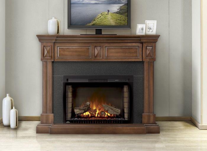 Napoleon NEFP29 Cinema Series Electric Fireplace with Braxton Mantel