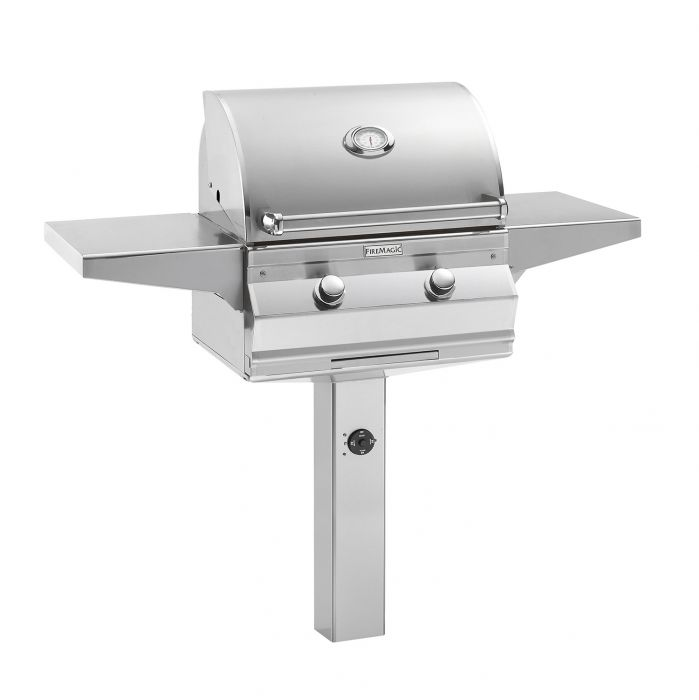 Fire Magic C430s-G6 Choice Series In-Ground Mount Gas Grill, 24-Inch