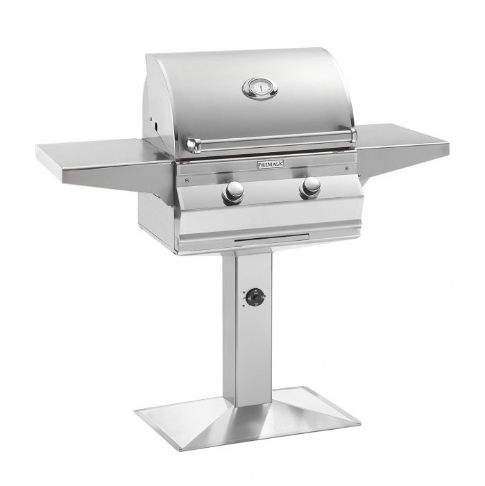 Fire Magic C430s-P6 Choice Series Patio Post Mount Gas Grill, 24-Inch