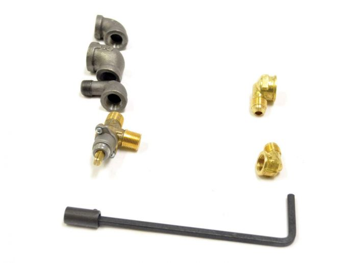 HPC C65 Manual Valve Kit with 7-Inch Stem