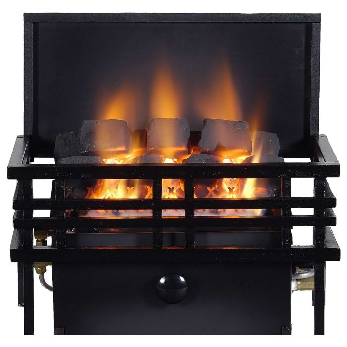 Rasmussen AMER-A-C9A CoalFire Small Americana Basket Ventless Fireplace Heater
