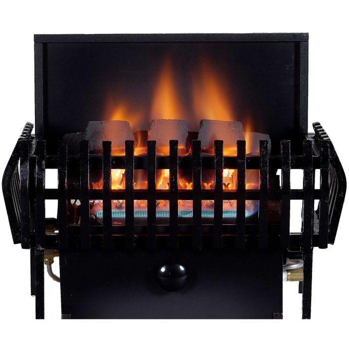 Rasmussen CLAS-A-C9A CoalFire Small Classic Basket Ventless Fireplace Heater