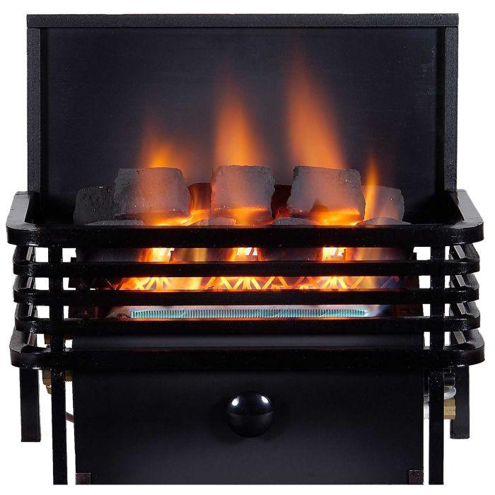 Rasmussen MOD-A-C9A CoalFire Small Moderne Basket Ventless Fireplace Heater