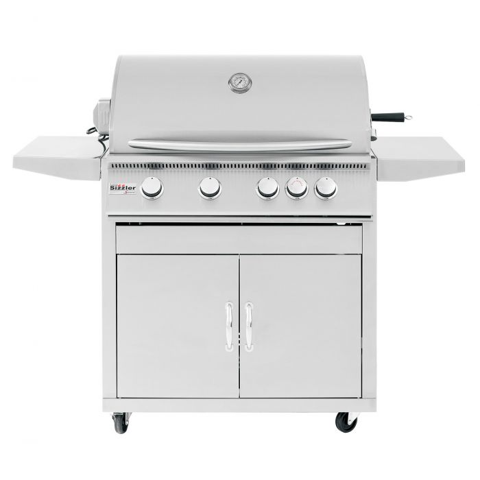 Summerset Sizzler Series Gas Grill On Cart, 32 Inch