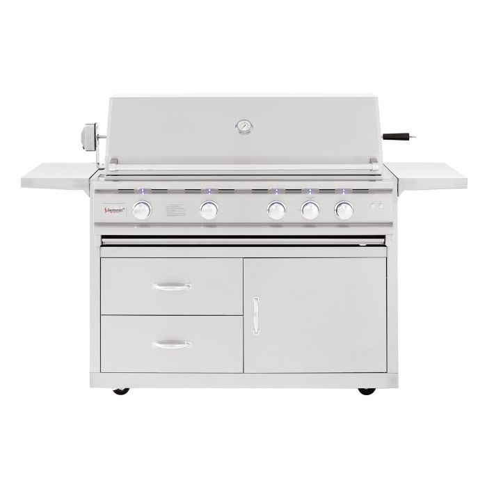 Summerset TRL Deluxe Series Gas Grill On Cart, 44 Inch
