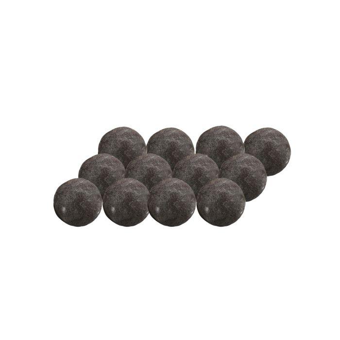 Grand Canyon CB2-12-B 12-Piece Black Cannon Ball Set, 2-Inches