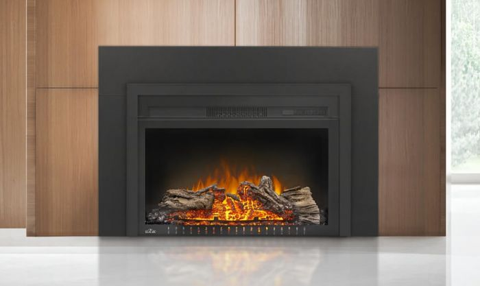 Napoleon NEFB29HG-3A Cinema Glass Series Built-In Electric Fireplace, 29 Inch