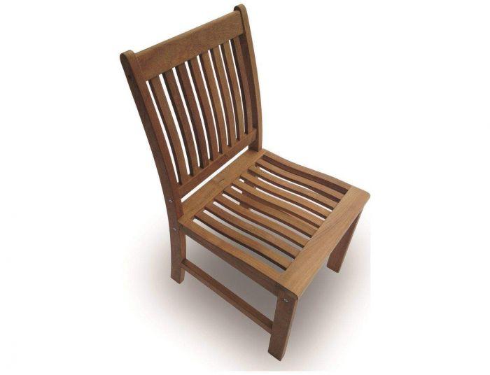 Royal Teak Collection COMSC Compass Teak Side Chair