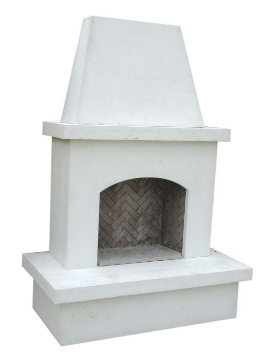 American Fyre Designs Contractor's Model Outdoor Gas Fireplace