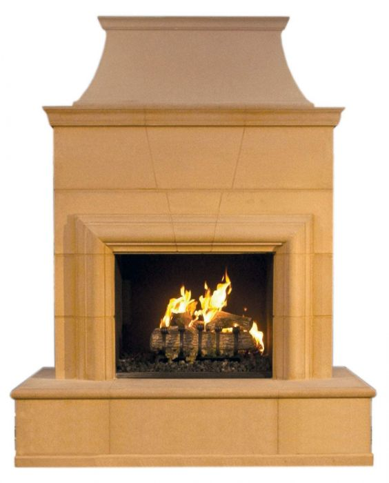 American Fyre Designs Cordova Outdoor Gas Fireplace