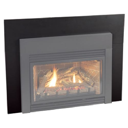 White Mountain Hearth DVF1HP 3-Piece Steel Frame for Vail 32-Inch Fireplace, Hammered Pewter