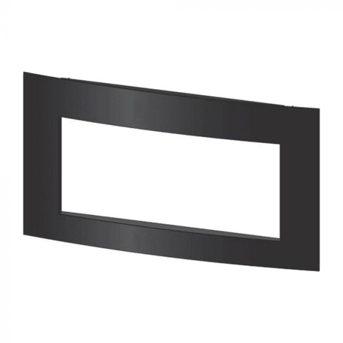 White Mountain Hearth CSLOFT Custom Surround for Loft Vent-Free Zero-Clearance Fireplace, Matte Black