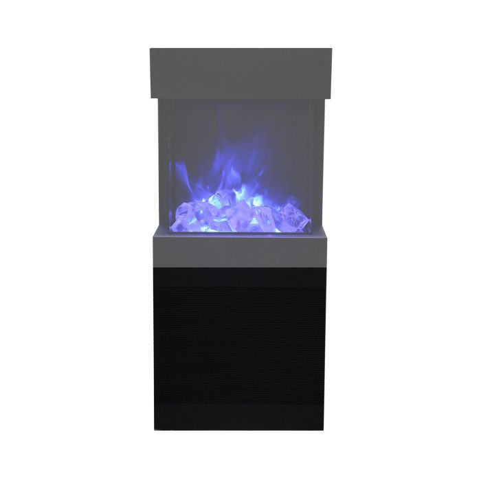Amantii Cube-Base-Speaker Speaker Base for 2025WM Electric Fireplace