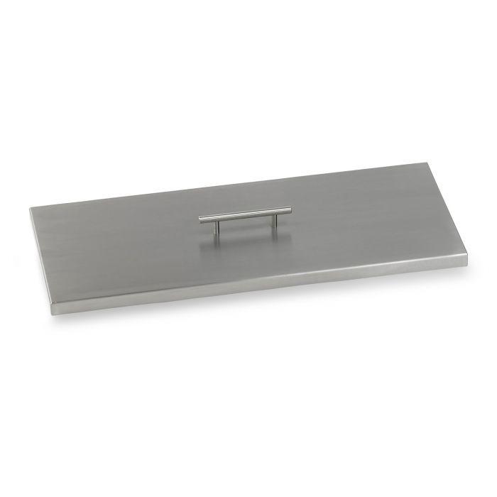 American Fireglass Drop-In Pan Cover, Rectangular, 24 Inch