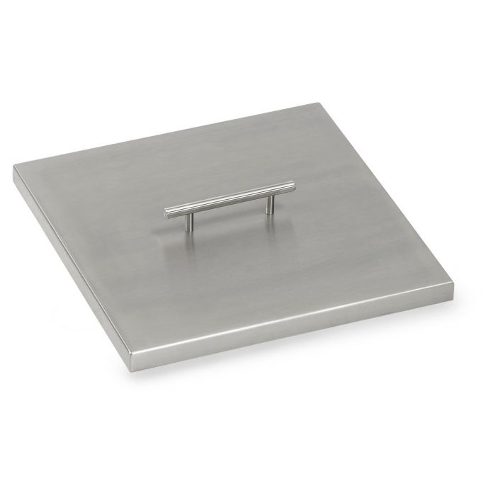 American Fireglass Drop-In Pan Cover, Square, 12 Inch