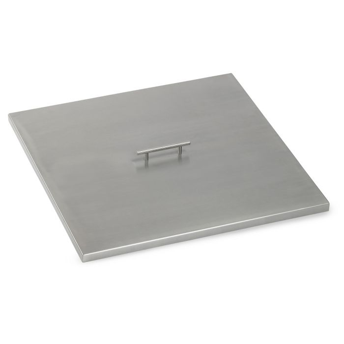 American Fireglass Drop-In Pan Cover, Square, 24 Inch