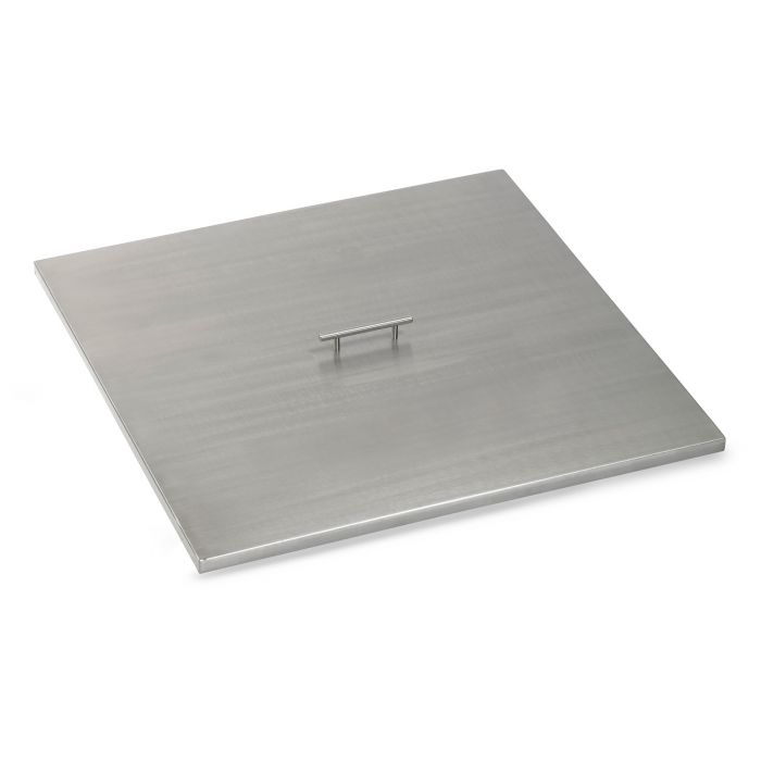 American Fireglass Drop-In Pan Cover, Square, 30 Inch