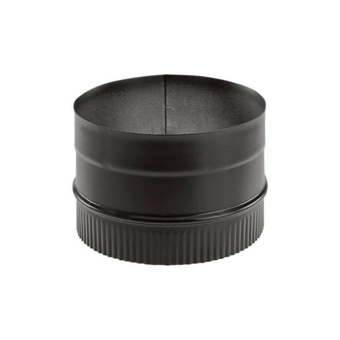 DuraVent 6DBK-ADW DuraBlack 6-inch Diameter Welded Stovetop Adapter