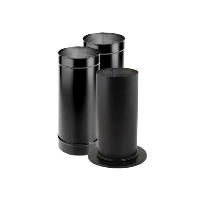 DuraVent 6DBK-KSP DuraBlack Single-Wall Stovepipe