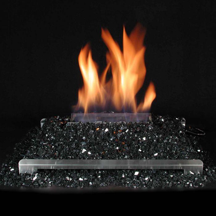 Alterna Vent Free FireGlitter See-Thru 20-Inch Burner Kit