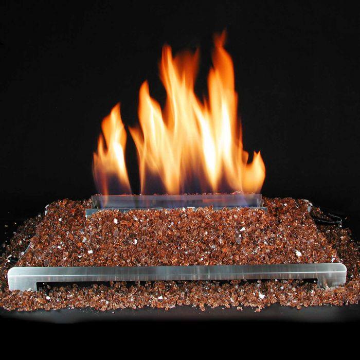 Alterna Ventless FireGlitter Double Sided 30-Inch Burner Kit