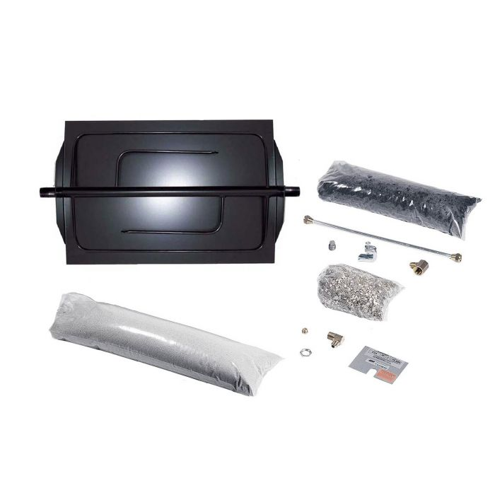 Rasmussen DF Custom Embers Vented Fireplace Burner Kit