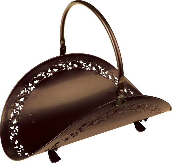 Dagan DG-63B Wood Basket , Bronze