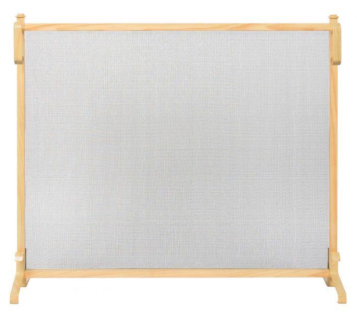 Dagan DG-AHS099 Wood Grain Fireplace Screen, 49.5x31.5-Inches
