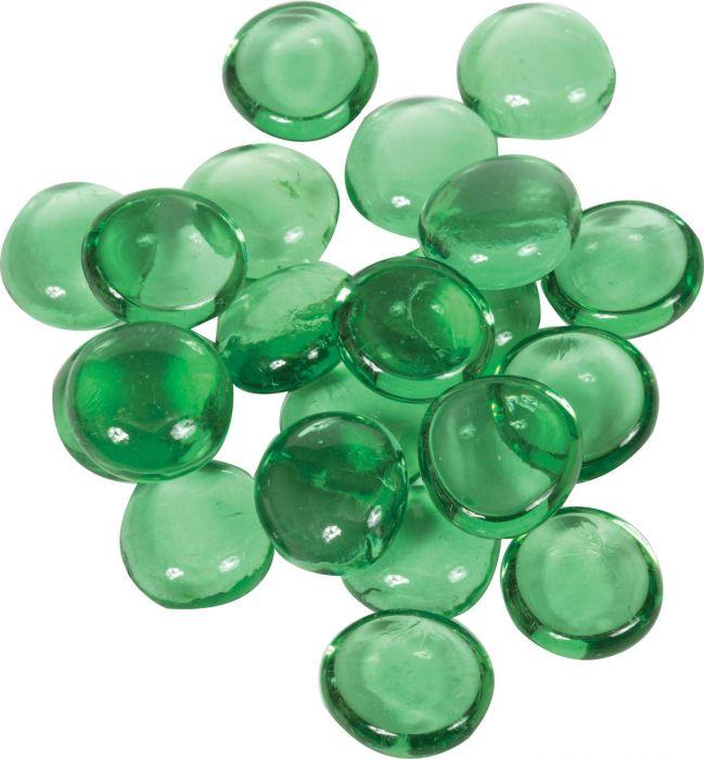 Dagan DG-GB-GREEN 3/4-Inch Fire Beads, 10, Green