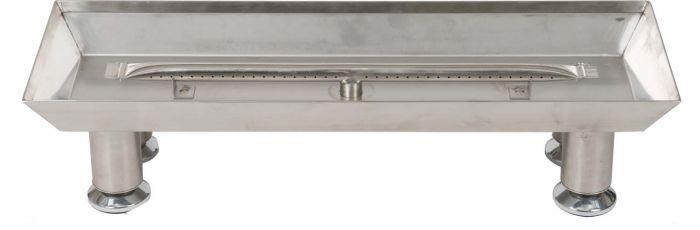 Dagan DG-LBPS Stainless Steel Burner Pan with Straight Burner