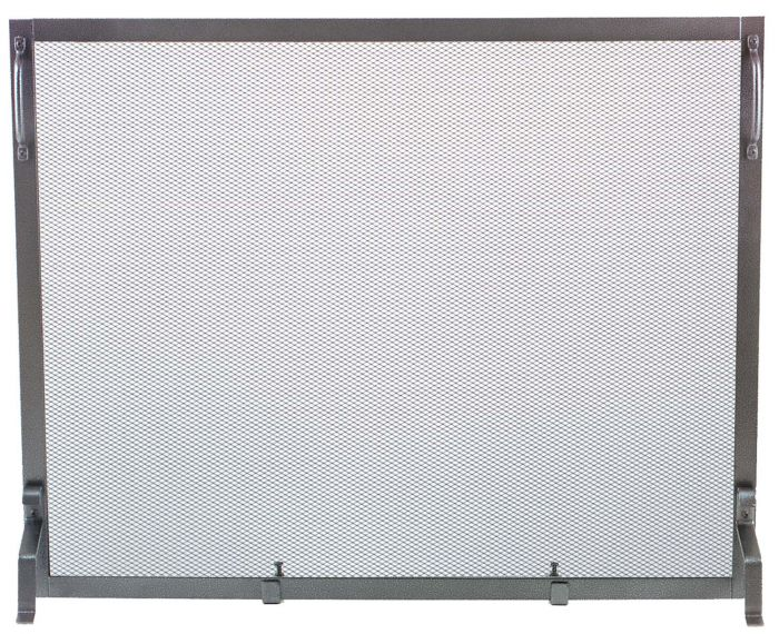 Dagan DG-S129NI Wrought Iron Fireplace Screen, 39x31-Inches