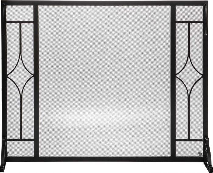 Dagan DG-S170 Fireplace Screen with Diamond Design, 39.5x31-Inches