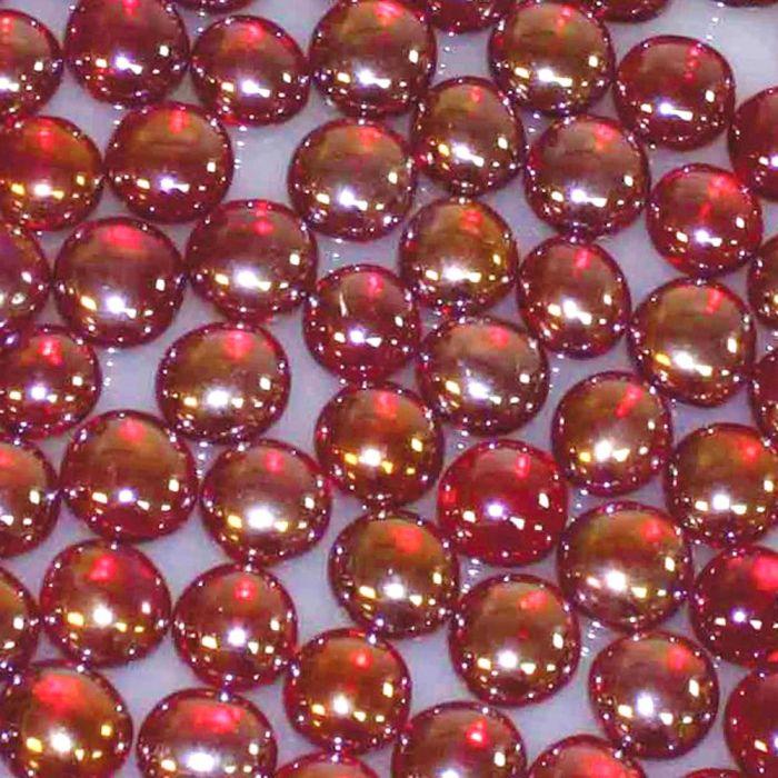 White Mountain Hearth DG1SL Sangria Luster Decorative Glass Droplets, 2.5-Pounds