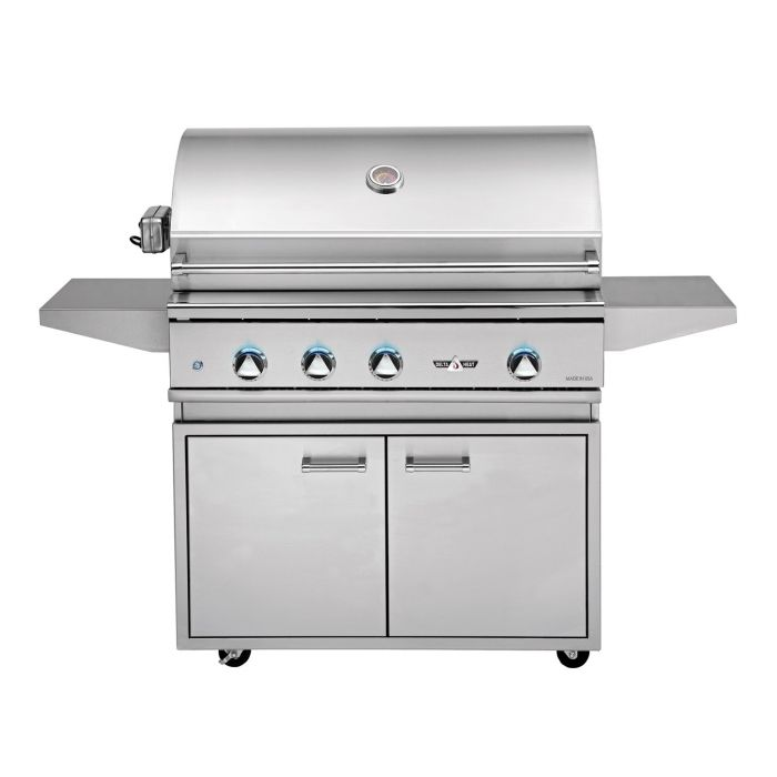 Delta Heat 38 Inch Gas Grill with Stainless Steel Base
