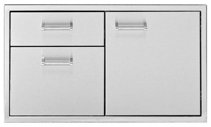 Delta Heat Door 2-Drawer Combo