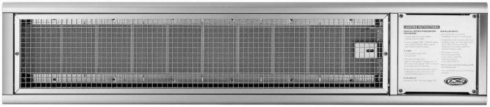 DCS Gas Infrared Heater, 48-Inch, Natural Gas