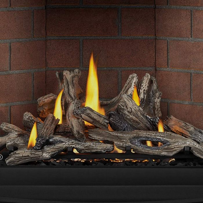 Napoleon DLKAX36 Driftwood Log Set for 36-Inch Altitude X Direct Vent Gas Fireplace