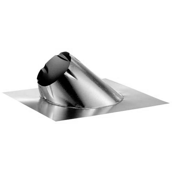 DuraVent 8DT-FxL DuraTech 8-Inch Diameter Large Base Adjustable Roof Flashing