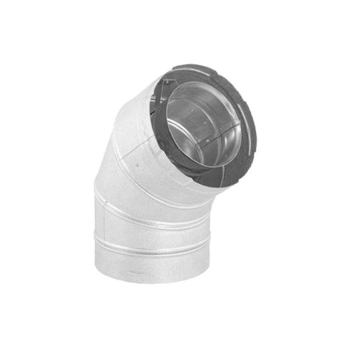 DuraVent DVA-E60 DirectVent Pro Galvanized Steel 60 Degree Elbow