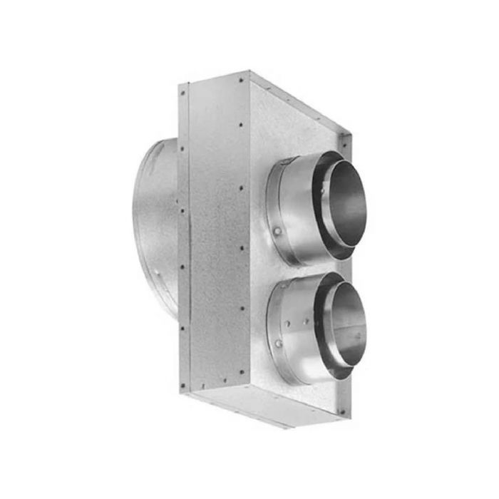 DuraVent 46DVA-VCL DirectVent Pro Co-Axial to Co-Linear Appliance Connector, Vermont Castings Connections