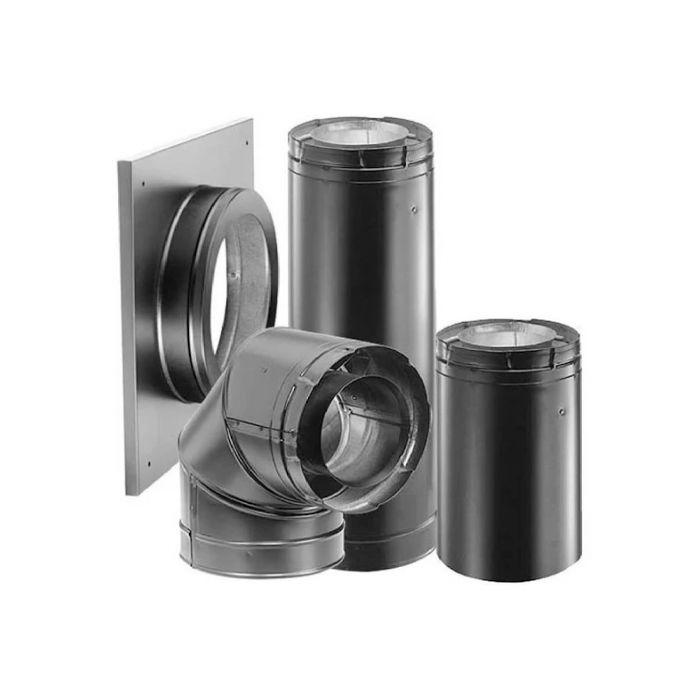DuraVent 46DVA-KHA DirectVent Pro Horizontal Termination Kit A, 4x6-5/8-inch Diameter