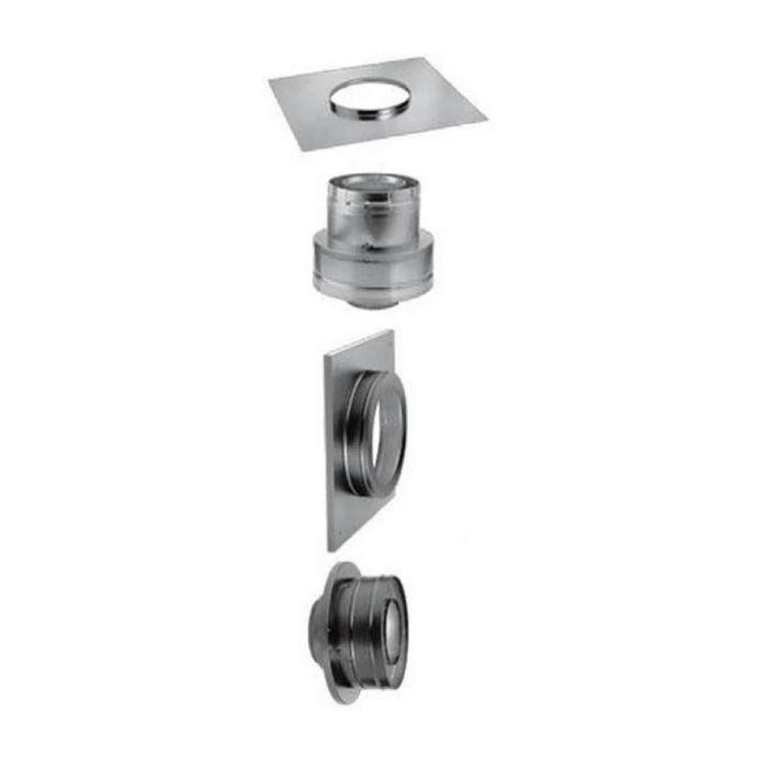 DuraVent 46DVA-KMC DirectVent Pro Masonry Chimney Conversion Kit, 4x6-5/8-inch Diameter