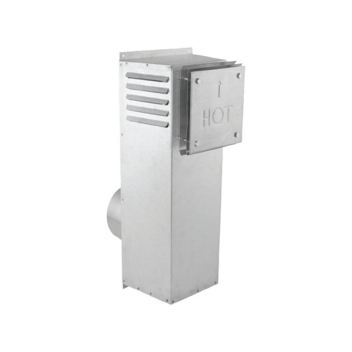 DuraVent 58DVA-SNK DirectVent Pro 5x8-Inch Diameter Snorkel Termination Cap