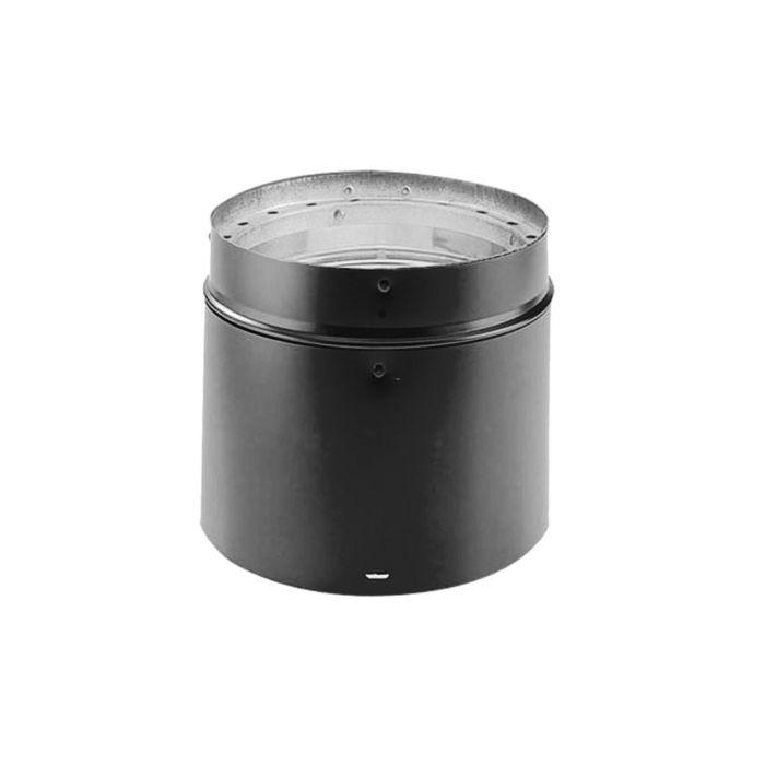 DuraVent 7DVL-ADJ DVL 7-inch Diameter Double-Wall Adjustable Black Pipe