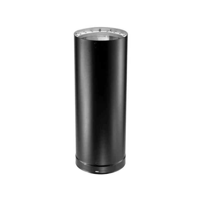 DuraVent 6DVL-x DVL 6-inch Diameter Double-Wall Black Pipe