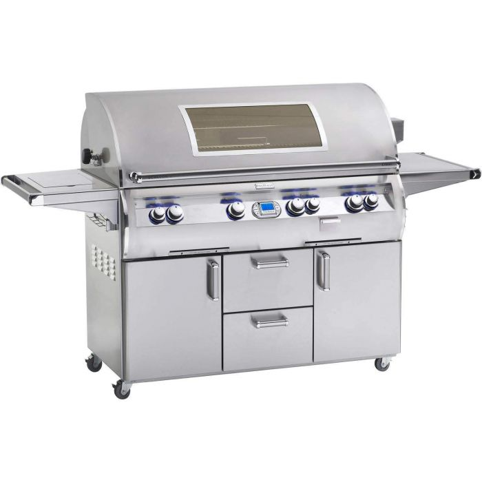 Fire Magic Echelon Diamond E1060s Gas Grill On Cart with Single Side Burner