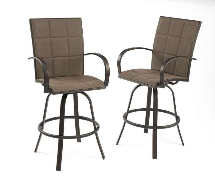 The Outdoor GreatRoom Company EMPIRE-BAR Empire Bar Stools, Set of 2