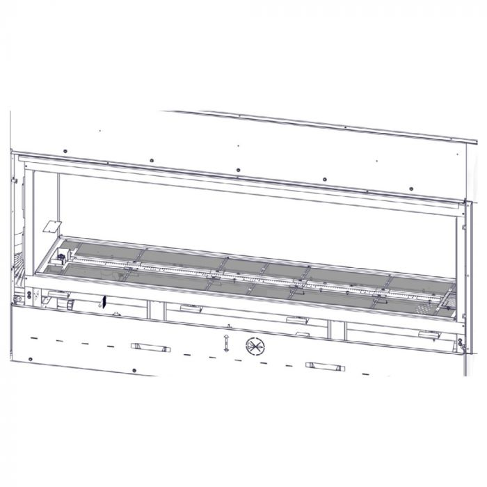 Napoleon EMT Media Tray for Acies Direct Vent Gas Fireplaces