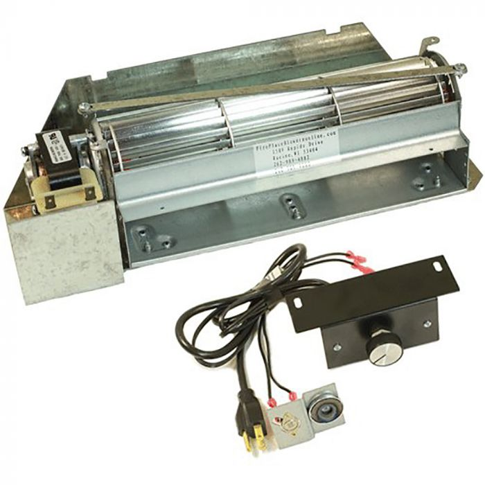 Superior FBK-250 Variable Speed Blower Kit with Thermostatic Snap Switch for Gas Fireplaces